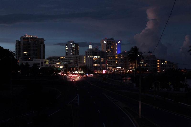 Пуэрто-Рико погрузился во тьму