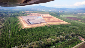 Угольная электростанция Mátra в городе Визонта, Венгрия